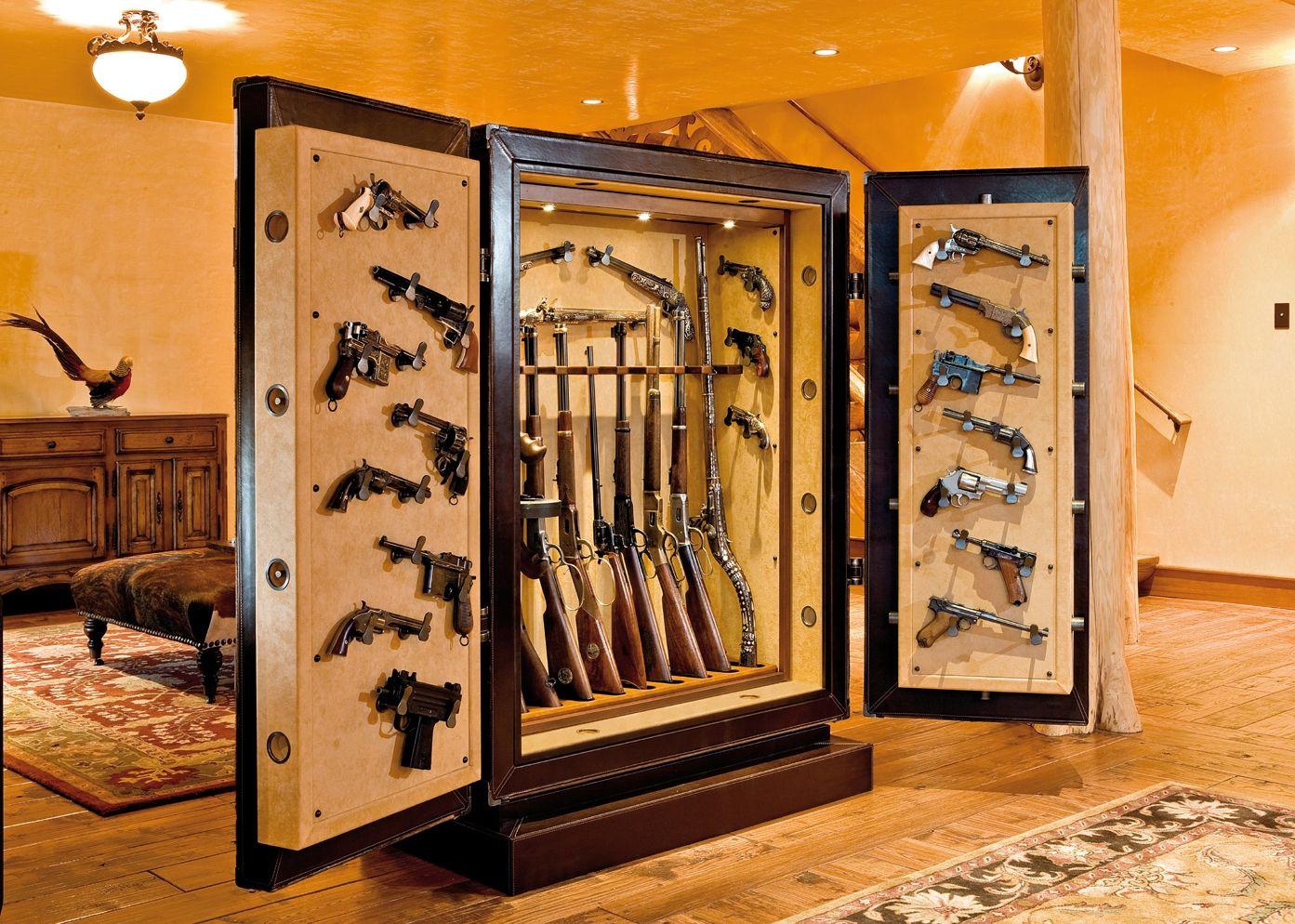 stack on gun safe
