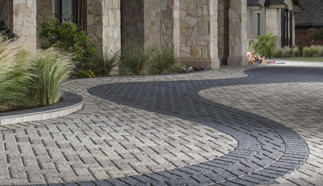 interlocking driveway pavers